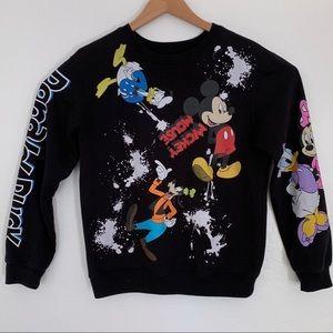 Disney crew neck sweatshirt